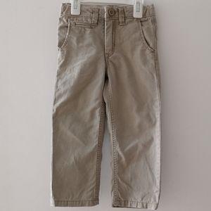 GAP 4T boy Khaki pants
